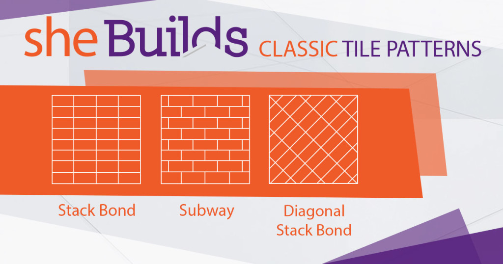 Tile layouts for DIY tiling